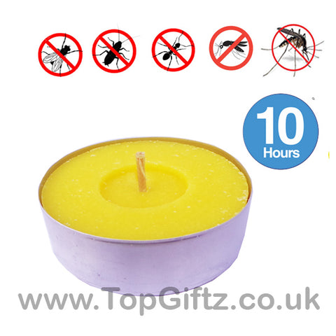 Citronella Maxi Tealights Tea light Candles Insect Repellent