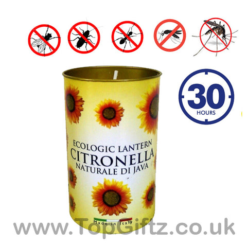 Prices Citronella Lantern Candle Insect Repeller 30 Hour