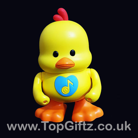 Dancing Musical Toy Duck Light Up Dancing Singing 6 Songs_1
