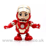 Iron Man Hero Marvel Avengers Sound Toys For Boys Dancing_1
