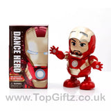 Iron Man Hero Marvel Avengers Sound Toys For Boys Dancing_2