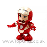 Iron Man Hero Marvel Avengers Sound Toys For Boys Dancing_3