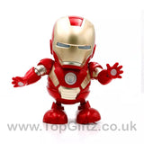 Iron Man Hero Marvel Avengers Sound Toys For Boys Dancing_4
