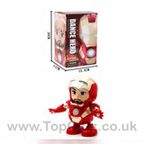 Iron Man Hero Marvel Avengers Sound Toys For Boys Dancing_6