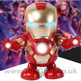 Iron Man Hero Marvel Avengers Sound Toys For Boys Dancing_7