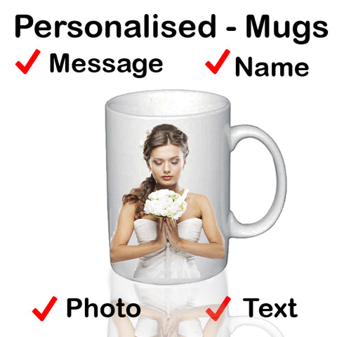 Valentines Day Personalised Him & Her - Mugs - TopGiftz