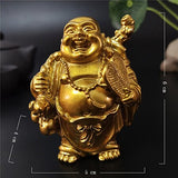 Happy Laughing Buddha Statue Figurine Ornaments - 6 Variations_4