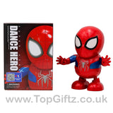 Spider Man Robot Action Figure Toy LED Light Sound Toy Gifts_1