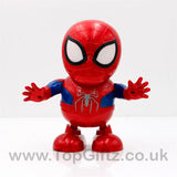Spider Man Robot Action Figure Toy LED Light Sound Toy Gifts_2