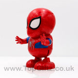Spider Man Robot Action Figure Toy LED Light Sound Toy Gifts_3