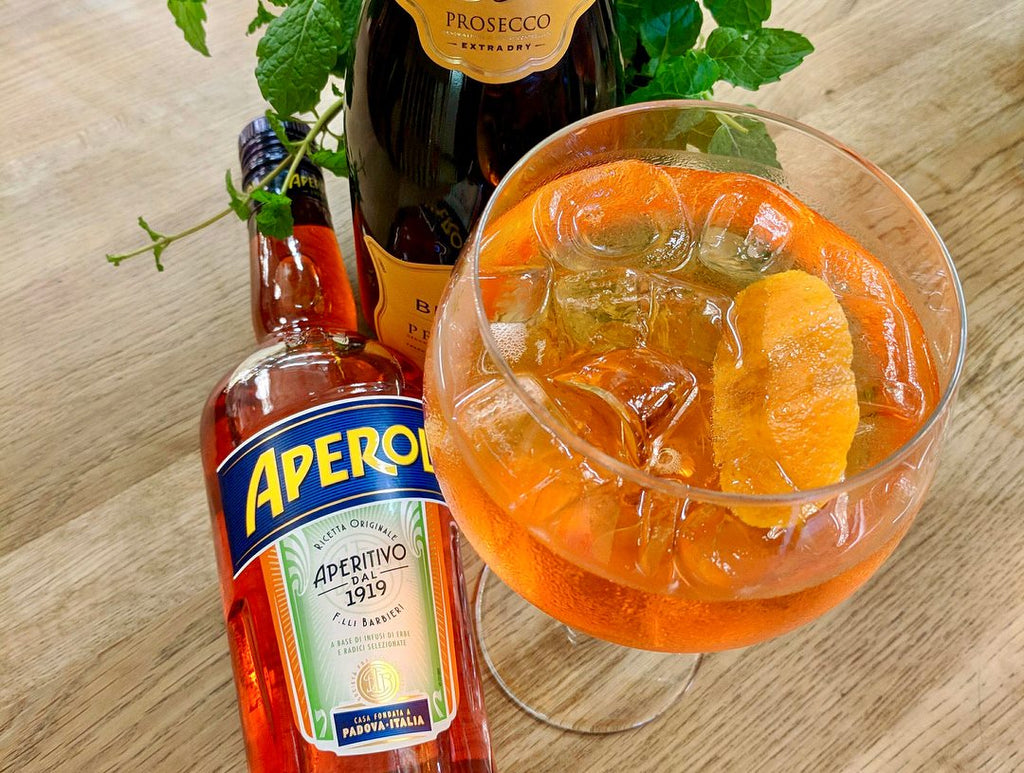 Aperol Spritz at Tylers Cafe