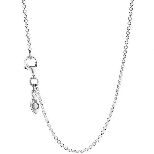 Pandora Silver Classic Cable Chain Necklace