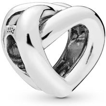 Load image into Gallery viewer, Pandora Knotted Heart Charm