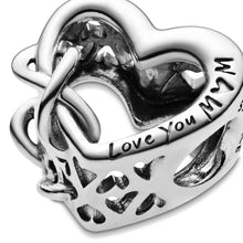 Load image into Gallery viewer, Pandora Love you Mum Infinity Family Charm