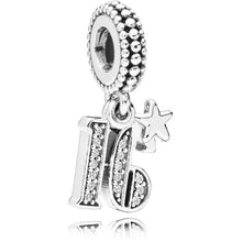 Load image into Gallery viewer, Pandora 16th Celebration Dangle Charm