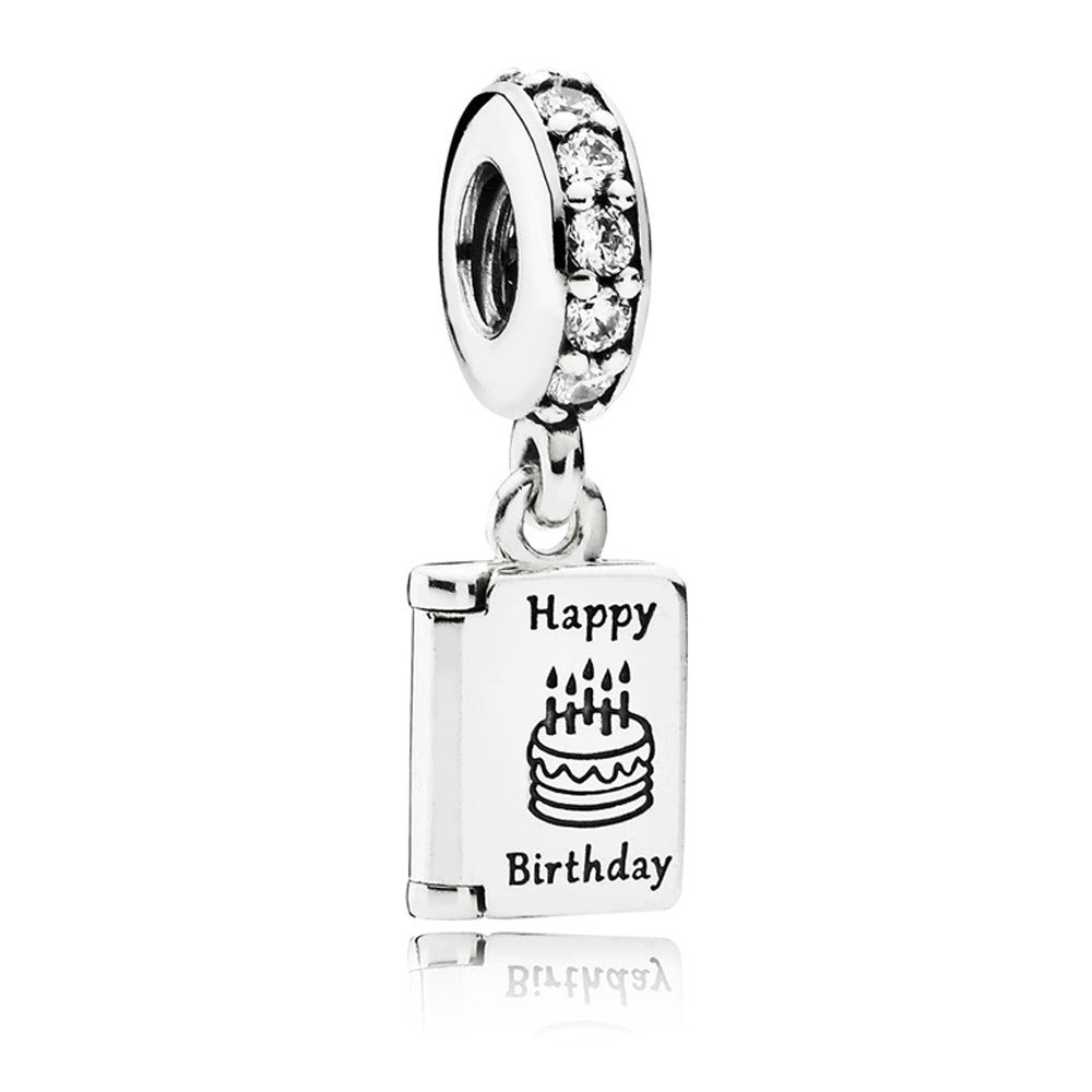 Pandora Birthday Card Dangle Charm