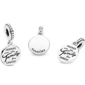 Pandora Friends are the Family We Choose Dangle Charm
