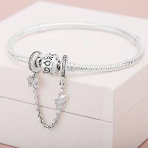 Pandora Butterfly Safety Chain Charm