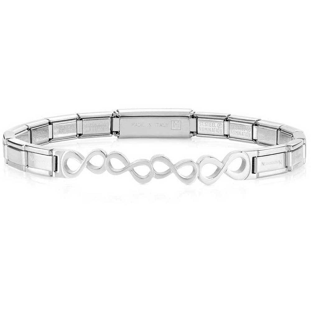Nomination Stainless Steel Infinity Bracelet