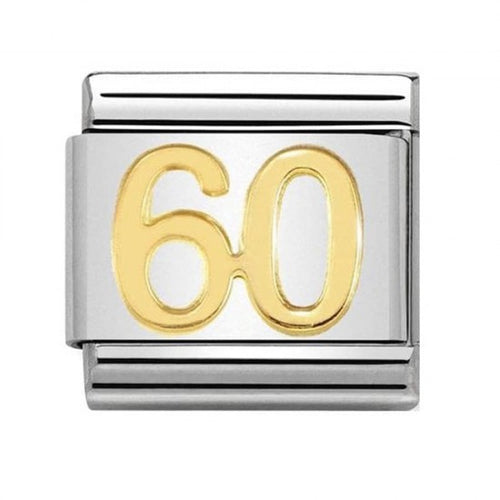 Nomination Yellow Gold Age 60 Charm