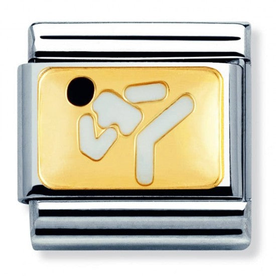 Nomination Yellow Gold Karate Charm