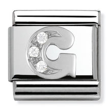 Load image into Gallery viewer, Nomination Silver Initial G Charm