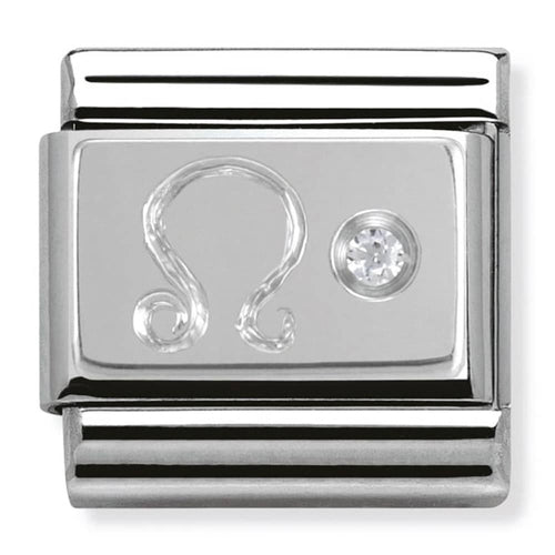 Nomination Silver Leo Star Sign Charm