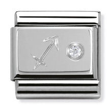 Load image into Gallery viewer, Nomination Silver Sagittarius Star Sign Charm