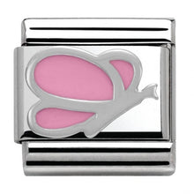 Load image into Gallery viewer, Nomination Silver Pink Butterfly Charm