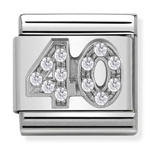 Nomination Silver Age 40 Charm