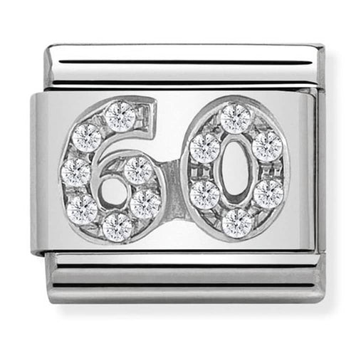 Nomination Silver Age 60 Charm