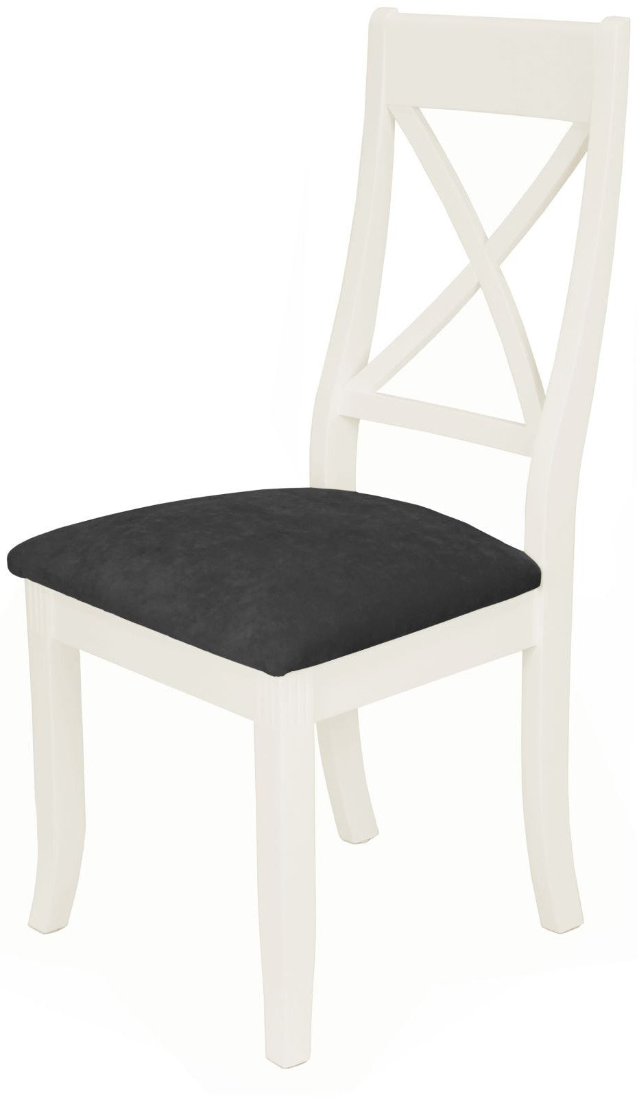 Cottage Cross Back Chair White