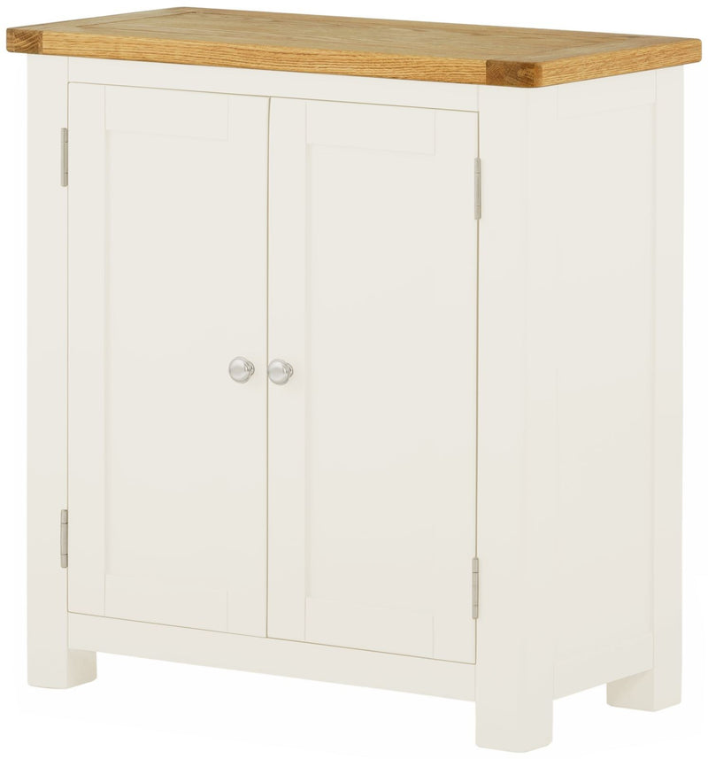 Cottage 2 Door Cabinet White - Tylers Department Store