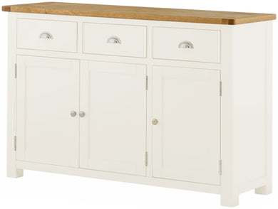 Cottage Large Sideboard White