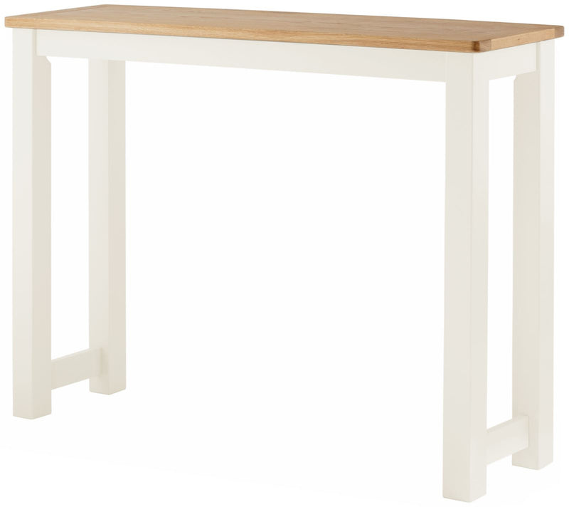 Cottage Breakfast Bar White - Tylers Department Store