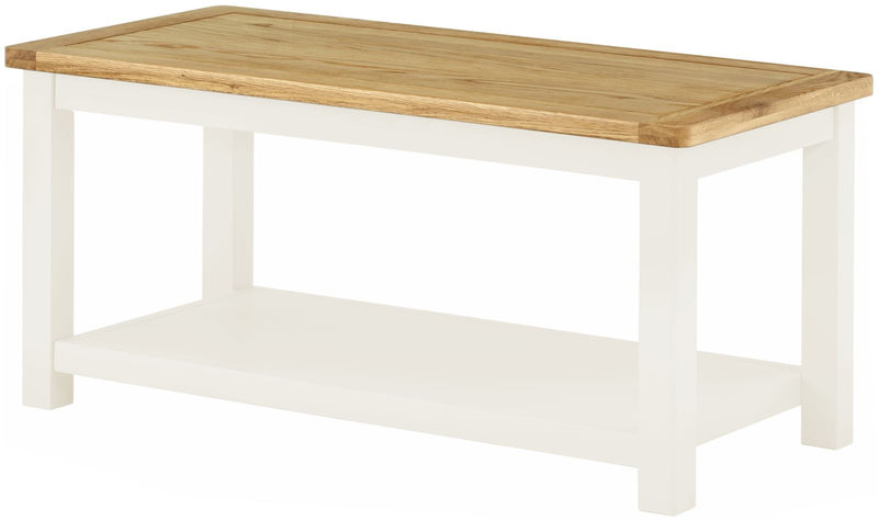 Cottage Coffee Table White - Tylers Department Store