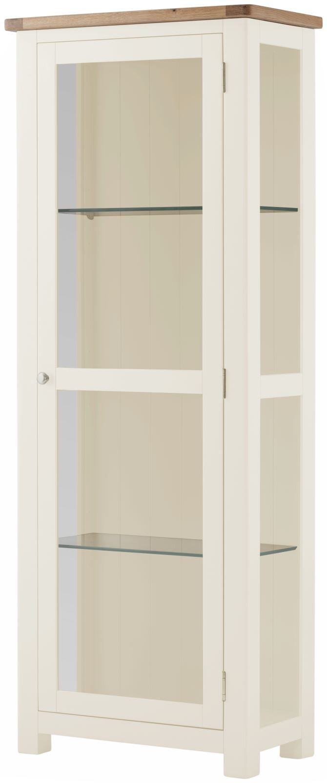 Cottage Display Cabinet White