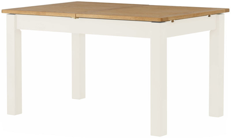 Cottage Extending Table White - Tylers Department Store