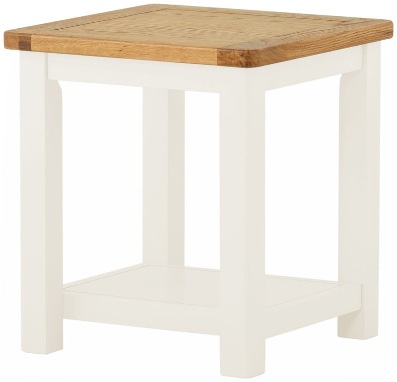 Cottage Lamp Table White