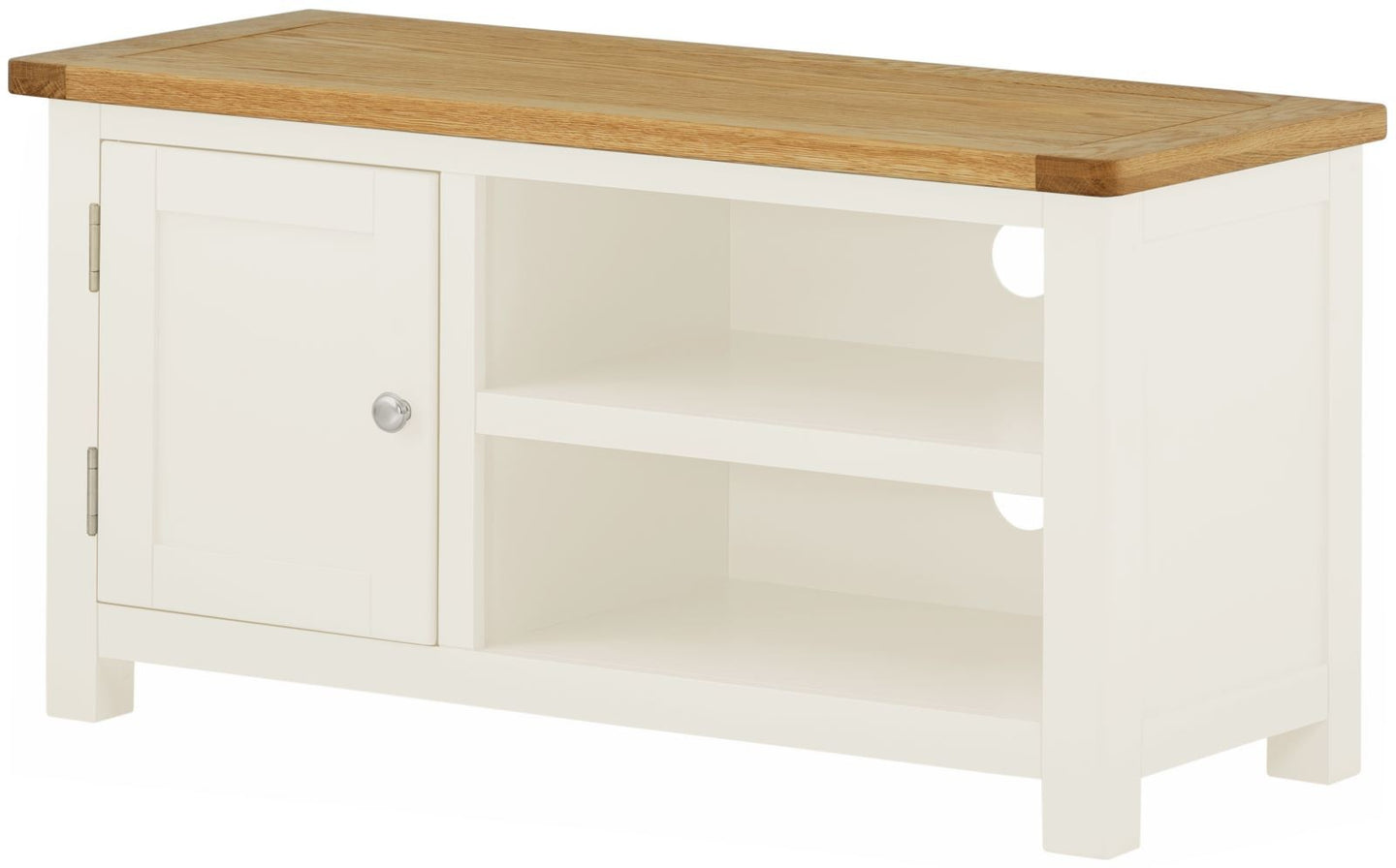 Cottage Small TV Unit White