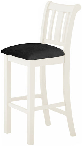Cottage Bar Stool White