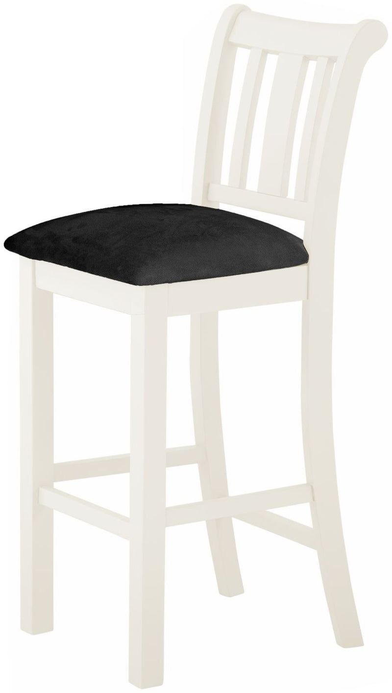 Cottage Bar Stool White - Tylers Department Store