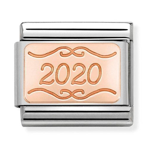 Nomination Rose Gold Plate Charm