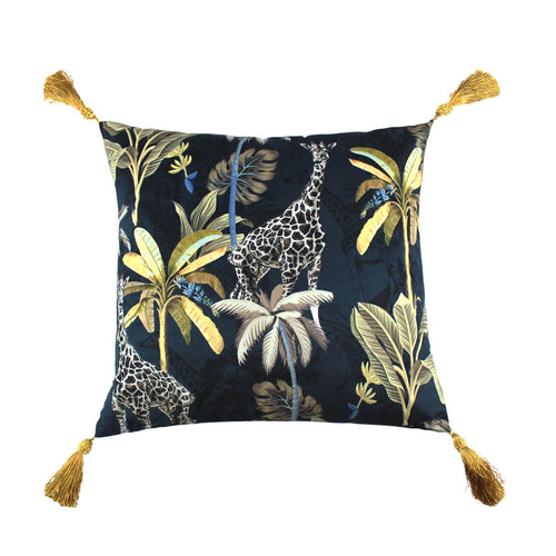Scatterbox Cushion - Simone Navy / Gold Small