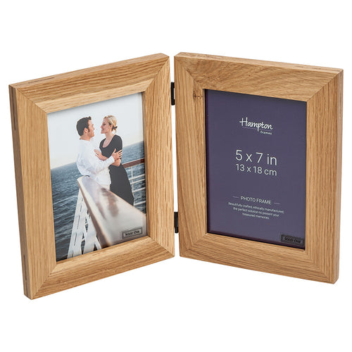 New England 5x7 Hinged by Hampton Frames