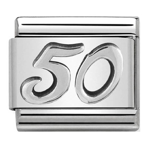 Nomination Oxidised Age 50 Charm