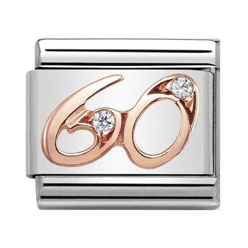 Nomination Rose Gold Age 60 Charm