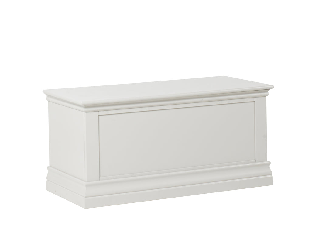 New Hampshire Blanket Box White