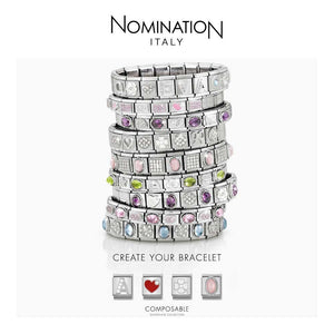 Nomination Rose Gold Milky Aquamarine Charm