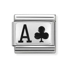 Load image into Gallery viewer, Nomination Ace of Clubs Charm